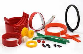 Peças Especiais de Borracha, Silicone e Plástico